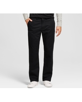 Men's Straight Fit Hennepin Chino Pants - Goodfellow & Co Black 34X32