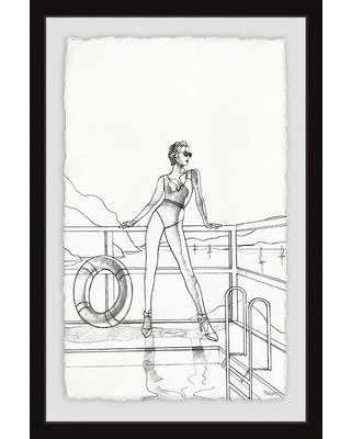"""Wrought Studio 'See the View' Framed Print W000228715 Size: 18"""" H x 12"""" W x 1.5"""" D"""