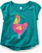 Tea Collection Rooster Graphic Baby Tee