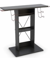 Atlantic Game Central TV Stand, Black, Furniture
