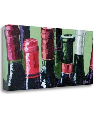 """Red Barrel Studio Really Big Red' Print on Wrapped Canvas RDBT1495 Size: 17""""H x 34"""" W"""