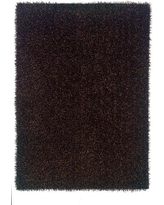 The Conestoga Trading Co. Hand-Tufted Black Area Rug CNTC3122 Rug Size: Rectangle 5' x 7'