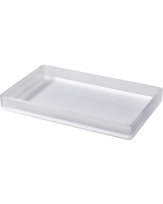 Amazing Deal on Frosted Bathroom Tray - Room Essentials