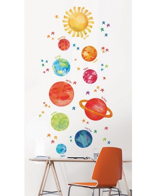 Wall Pops Multi-Color Our Galaxy Wall Decal