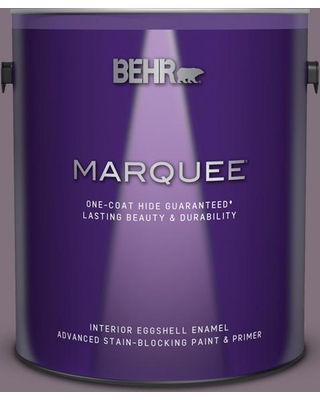 BEHR MARQUEE 1 gal. #690F-6 Wine Frost Eggshell Enamel Interior Paint and Primer in One
