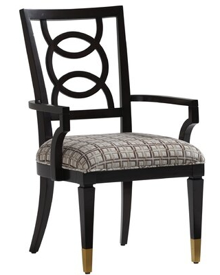 Carlyle Dining Chair Lexington Upholstery: Gray