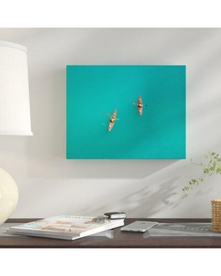 """East Urban Home 'Miami Feel' Photographic Print on Wrapped Canvas CG160833 Size: 24"""" H x 36"""" W x 2"""" D"""