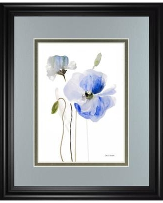 Classy Art Wholesalers 'All Poppies I' by Lanie Loreth Framed Painting Print DM5575
