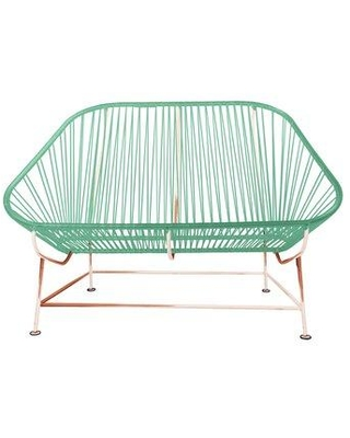 Innit InLove Loveseat 14-04- Color: Mint/Copper