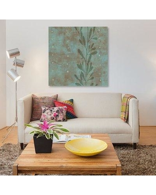"East Urban Home 'Charmed I' Painting Print on Canvas ESUR4429 Size: 37"" H x 37"" W x 1.5"" D"
