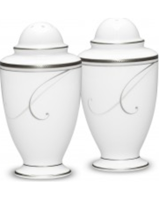 Noritake Platinum Wave Salt & Pepper