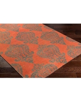 Shop Deals For Wireman Hand Knotted Wool Denim Area Rug Red Barrel Studio Rug Size Rectangle 2 X 3