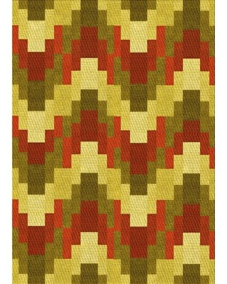 New Deal On Wool Red Yellow Green Area Rug East Urban Home Rug Size Runner 2 X 5