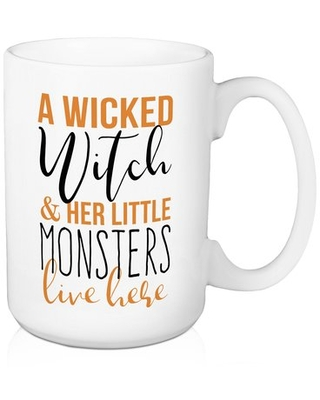 Gillett A Wicked Witch and Her Little Monsters 15 oz Coffee Mug The Holiday Aisle®