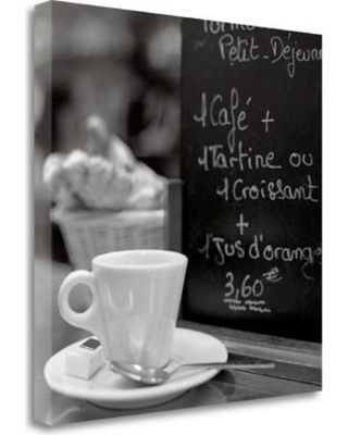"Tangletown Fine Art 'Cafe Champs-Elysees - 31' Photographic Print on Wrapped Canvas ICABFR584-2020c Size: 25"" H x 25"" W"