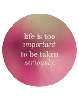 Can T Miss Bargains On Handwritten Life Levity Quote Poly Chenille Rug East Urban Home Rug Size Round 5