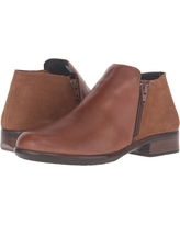 Naot Helm (Maple Brown Leather/Desert Suede) Women's Boots