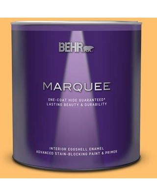 Amazing Savings On Behr Marquee 1 Qt P250 5 Solar Storm Eggshell Enamel Interior Paint And Primer In One