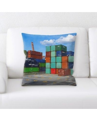East Urban Home Business Throw Pillow W000210596