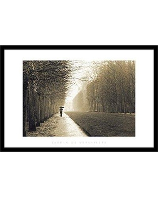 Red Barrel Studio 'Jardin De Versailles' Framed Photograph Print RBRS8390