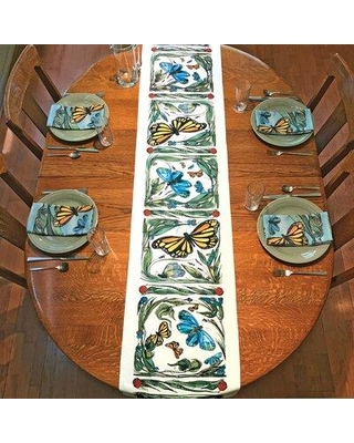 August Grove Nikodemos Butterfly Table Runner W000507291