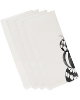 Spectacular Deals On The Holiday Aisle Maser Psychic Eye Halloween 4 Piece Napkin Set Polyester In White Size 22 L X 22 W Wayfair