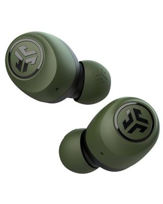 JLab Audio Go Air True Wireless Earbuds +Charging Case | Army Green | Dual Connect | IP44 Sweat Resistance | Bluetooth 5.0 Connection | 3 EQ Sound Settings: JLab Signature, Balanced, Bass Boost