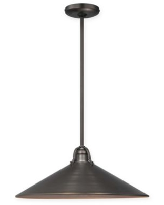 Minka Lavery® 3-Light Pendant in Copper Patina Bronze with Metal Shade