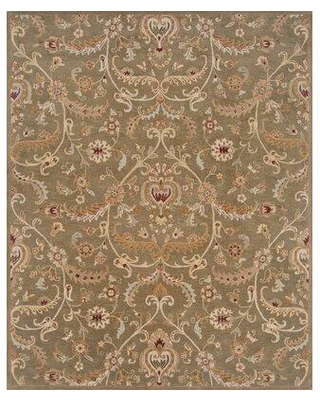Remarkable Deals On Charlton Home Floral Handmade Tufted Woolarea Rug Wool In Green Size Rectangle 5 X 7 6 Wayfair Ef2e1c2998db4e0bac86607cd99b2361
