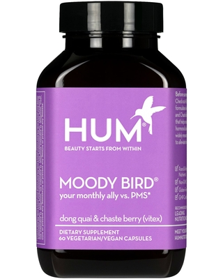HUM Nutrition HUM Nutrition Moody Bird PMS Support Supplement 60 Capsules  from Sephora, Inc  | ShapeShop