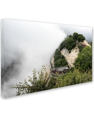 "Trademark Art ""Mt Huashan"" by Philippe Hugonnard Photographic Print on Wrapped Canvas PH0358-C Size: 16"" H x 24"" W x 2"" D"