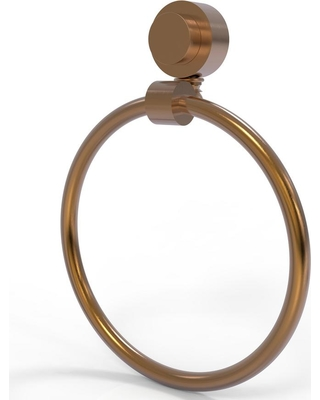 Allied Brass Venus Collection Towel Ring in Brushed Bronze