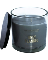 The Collection Grey Flannel Jar Candle