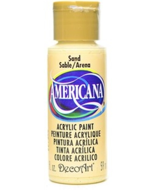 Decoart Americana Acrylic Paints Sand 2 Oz. [Pack Of 8] (8Pack DA4-3) | Quill