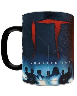 Morphing Mugs It Chapter Two Sewer Lines Pennywise the Dancing Clown Heat Sensitive Color Changing Heat Reveal Coffee Mug MMUG1038