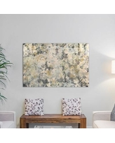 """Langley Street Vintage Mirror Painting Print on Wrapped Canvas LGLY3314 Size: 18"""" H x 26"""" W x 0.75"""" D"""