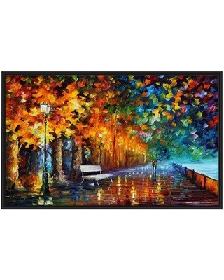 """Winston Porter 'Way to Home 2' Framed Oil Painting Print on Wrapped Canvas BI022895 Size: 21.5"""" H x 33.5"""" W x 2"""" D"""