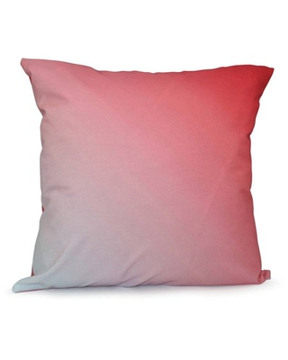 """Simply Daisy Ombre Print Decorative Pillow, 16"""" x 16"""""""