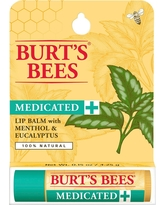 Burt's Bees Medicated Moisturizing Lip Balm - 0.15oz