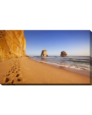 """PicturePerfectInternational 'The Apostles' Photographic Print on Wrapped Canvas 704-3858 Size: 36"""" H x 60"""" W x 1.5"""" D"""