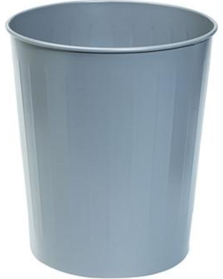 Safco Products Steel 5.88 Gallon Waste Basket 9604 (carton) Color: Charcoal