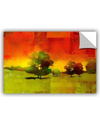 """ArtWall Tree Study' by Greg Simanson Removable Wall Decal JJM8621 Size: 16"""" H x 24"""" W x 0.1"""" D"""