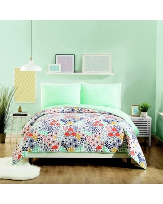Maker's Collective Mayflower King Quilt Set in Green