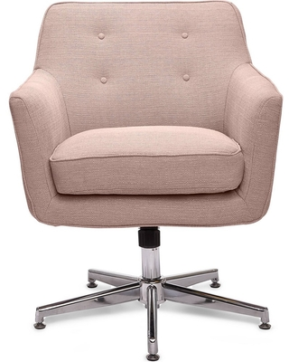 Discover Deals On Style Ashland Home Office Chair Party Blush Pink Serta