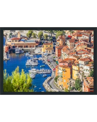 """PicturePerfectInternational """"French Riviera"""" Framed Photographic Print 704-3342-2436 / 704-3342-3248 Size: 27.5"""" H x 39.5"""" W x 0.75"""" D"""