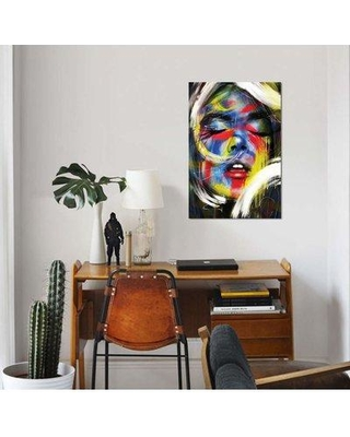 """East Urban Home 'Soul' Graphic Art Print on Canvas EBHS6930 Size: 12"""" H x 8"""" W x 0.75"""" D"""