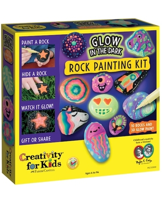 Faber-Castell® Glow In The Dark Rock Painting Kit   Michaels®