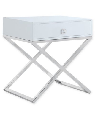 Chic Home Westbury Side Table in White