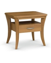 Shop Deals On Red Barrel Studio Mccune Faux Marbelized Granite End Table Wood Solid Wood In White Size 21 H X 20 W X 22 D Wayfair
