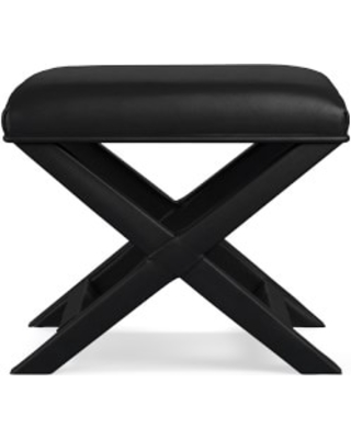 Brilliant X Base Stool Classic Leather Black Beatyapartments Chair Design Images Beatyapartmentscom